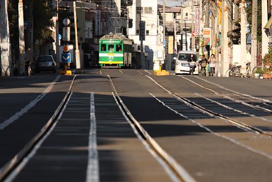 2011/12/25 阪堺電軌上町線 帝塚山三丁目