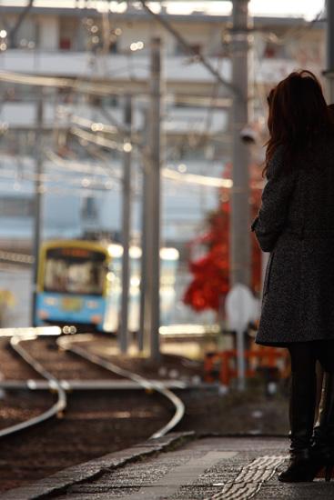 2011/12/23 阪堺電軌上町線 帝塚山四丁目