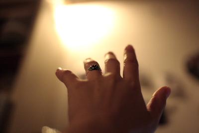 Beads ring X Kiss2