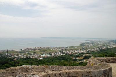 na.中城城二の郭から中城湾を望む