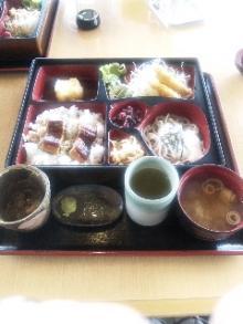 諏訪湖昼食