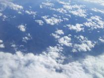 空から見る空