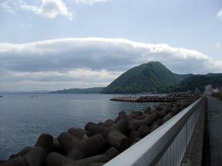 別府湾の風景
