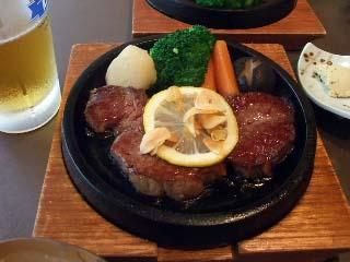 佐五郎のステーキ定食