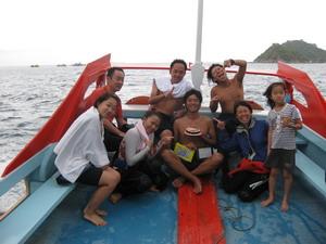 タイ・タオ島・ダイビング・バースデー・ボート