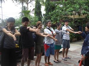 タイ・タオ島・ダイビング・講習・コンパス