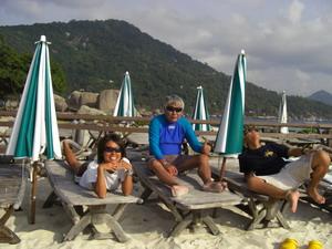 タイ・タオ島・ダイビング・ナンユアン島ツアー
