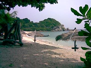 タイ、タオ島サイデーンビーチ