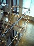 階段にまきまき