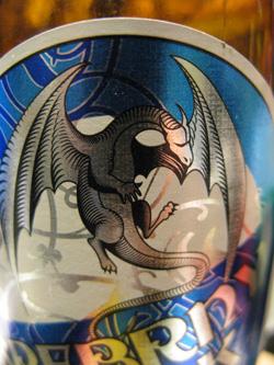 銀のドラゴンビール