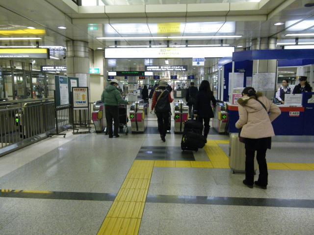 成田空港駅 改札