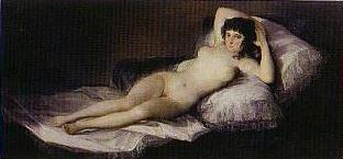 ゴヤ「裸体のマハ」
