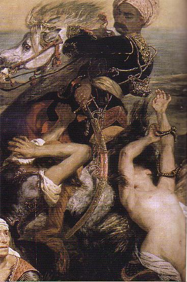 ドラクロア「キオス島の虐殺」