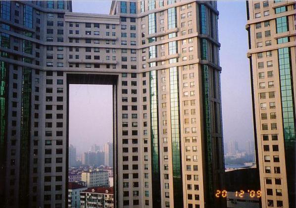 上海ホテルから