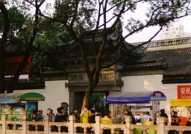 上海・豫園入口