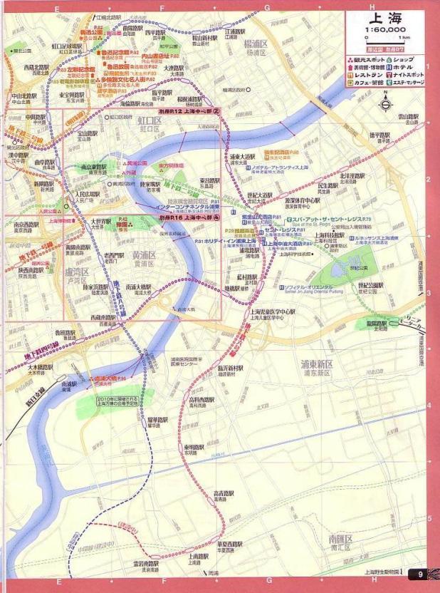上海地図・浦東