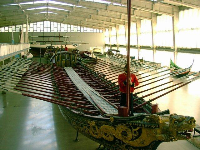 3419GalleyShipポルトガル海洋博物館ガレー船
