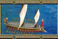 un_trireme_sギリシアの三段ガレー船