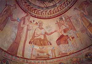 bulga20[1]1トラキア人墓壁画