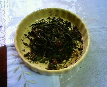 手作りのお茶1