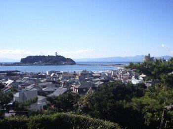 午前中の江ノ島350