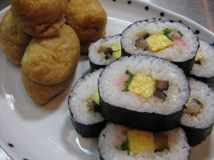 海苔巻きといなり寿司