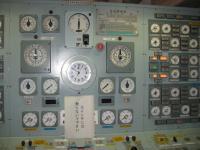 護衛鑑の操舵室