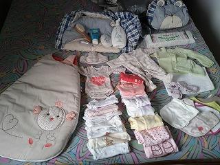 入院準備品 赤ちゃん用