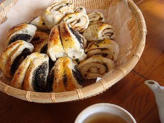 飲茶風ロールパン