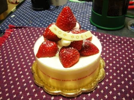 201222ケーキ