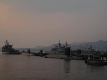 210613呉の夕日4