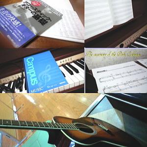 ギター練習中
