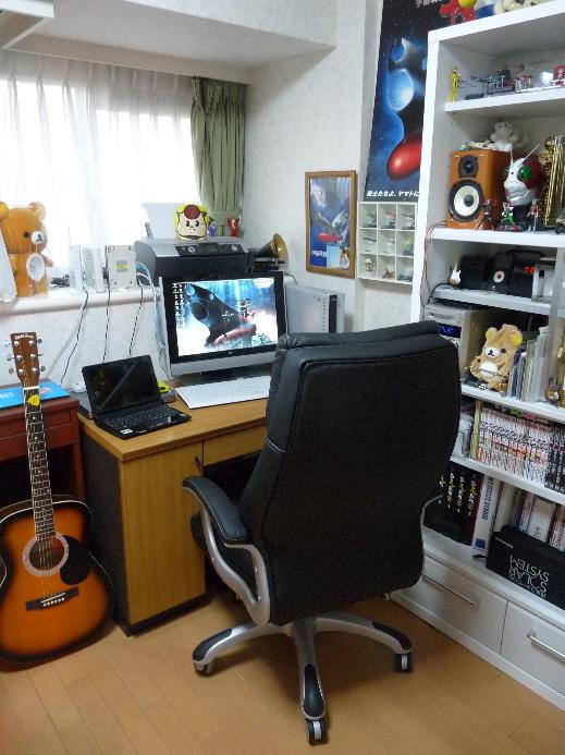新しい椅子のある部屋