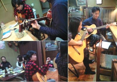 ペレーネギター教室2009年忘年会