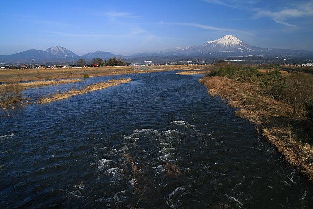 大山の見える風景~淀江町 壺瓶山より