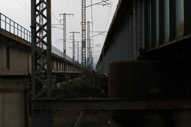 日野川 大山 鉄道