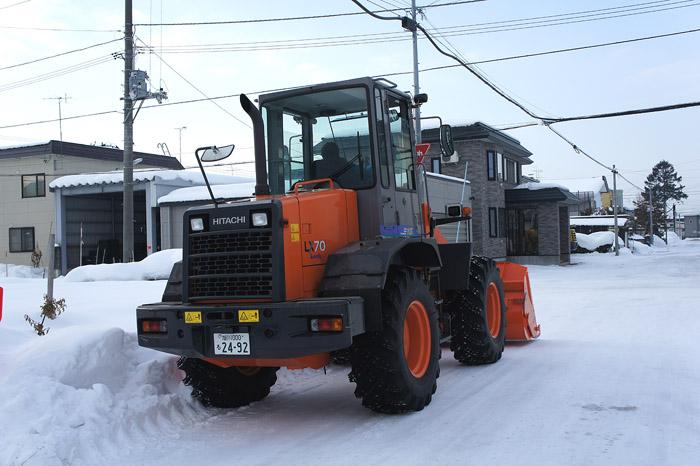 1102除雪車