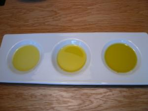 オリーブオイル3種類