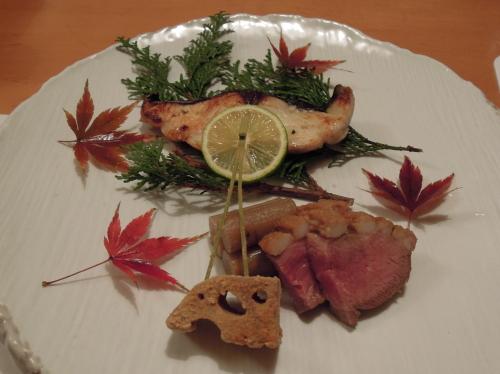 ごま家焼き魚