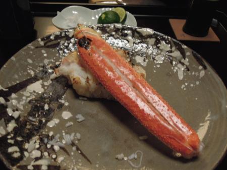 和久傳焼き蟹2