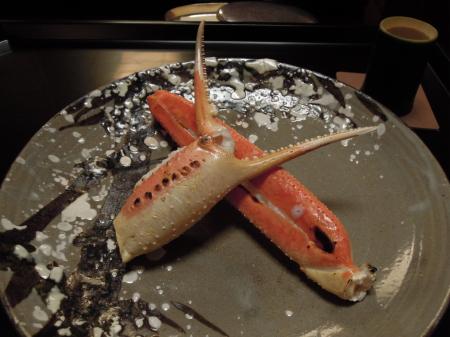 和久傳焼き蟹1