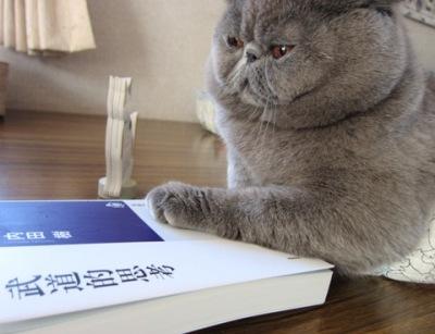 4)下を見てご本が読めませんでじた