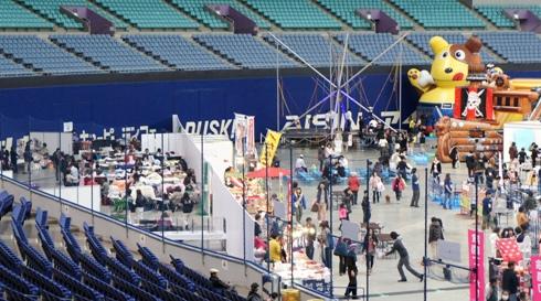 4)ここがショー会場デス