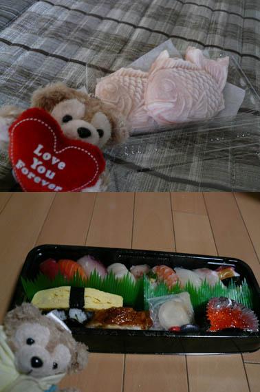 お寿司&おやつ