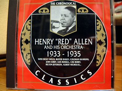 レッド・アレン 1933-35