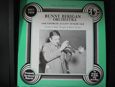 バニー・ベリガン 1937-38
