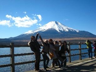 09お正月山中湖