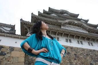 姫路城と私