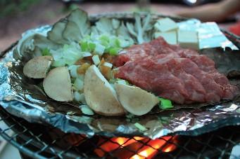 飛騨牛朴葉味噌焼2
