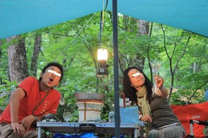 奥飛騨キャンプ乾杯1